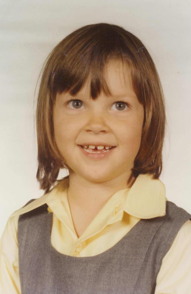 Georgie Burg, aged 6 in 1979, one of eight known victims of little-known Anglican paedophile priest John Aitchison, tells her story for the first time.