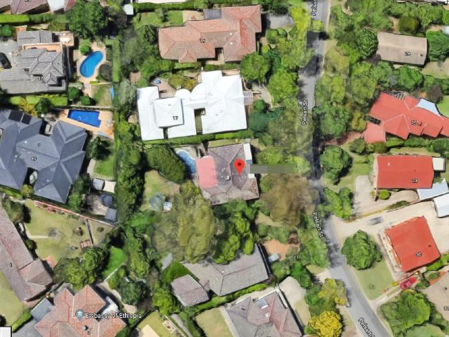 Paedophile priest John Aitchison abused Georgie for two years in church at her home (above).