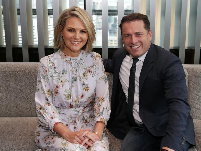 Today's ratings had slid significantly since Karl Stefanovic's endless bad publicity run began. Picture: Julie Kiriacoudis