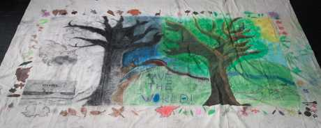 Toowoomba Art Society Primary Class entry into the Takatsuki Art Festival