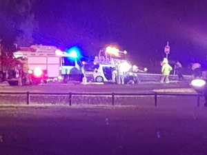 Two people taken to hospital after Mackay crash