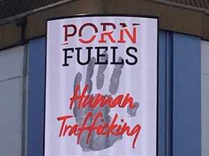 Billboards linking porn to human trafficking erected in CBD