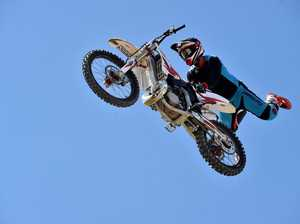 Zachary Mackenzie will be perfroming his motorcross