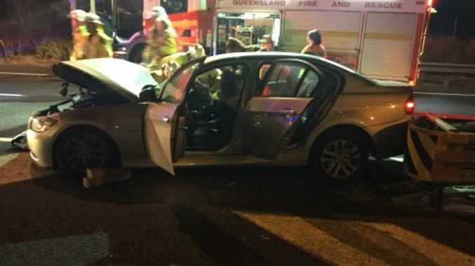 Police looking for witnesses to Ipswich Mwy crash