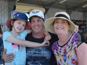 Pyper Bell, Kent Bell (Toowoomba) and Krista Schultz