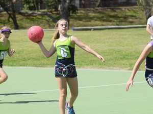 Action from the Grafton Netball Association under