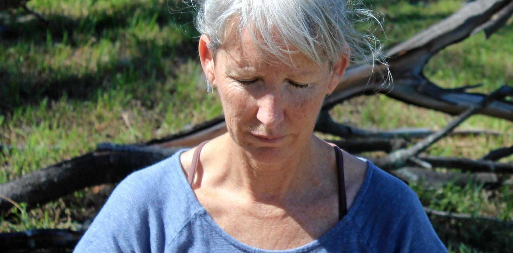 MINDFULNESS: Meditation teacher Lynn Montgomery is preparing for her second Yamba Yoga Festival.