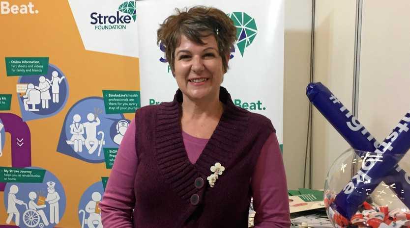 Stroke Survivor Sue Bowden.