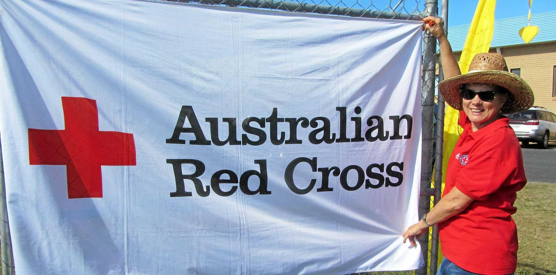 Red Cross Zone three representative Judith Jackson.
