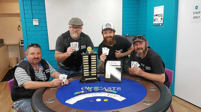 READY FOR COMPETITION: The Northern Rivers Outcasts are ready to win again in Melbourne on October 5.