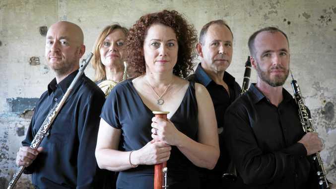 Professional wind quintet to visit Ipswich
