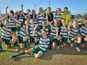 'Fantastic double': Pride girls celebrate wonderful season