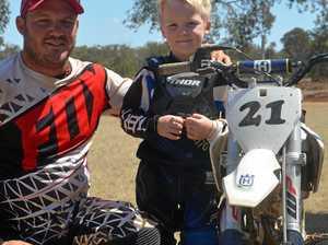 Racing all in the family on Burnett track