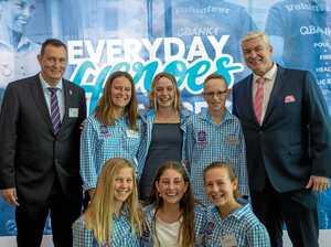 Teens honoured for dramatic beach rescue
