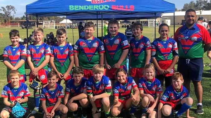 BIG HEARTS: Benderoo Bulls at the 2018 Mulga Cup.