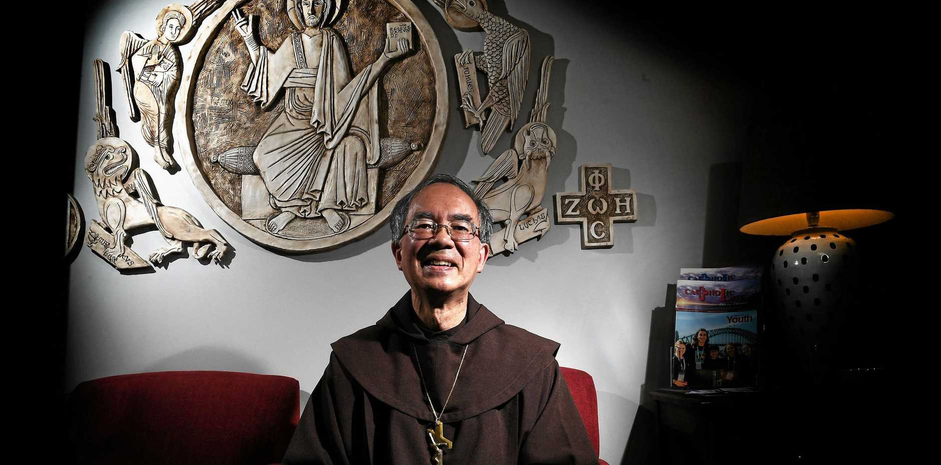 THE sixth bishop of Lismore, father Gregory Homeming , has a plan for the next 15 years of his life, and it involves tackling five issues that are important to him.