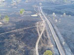 GALLERY: 21 aerial photos of the scorched Woolooga landscape
