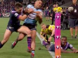 Justin Hodges weighs in on Billy Slater shoulder charge