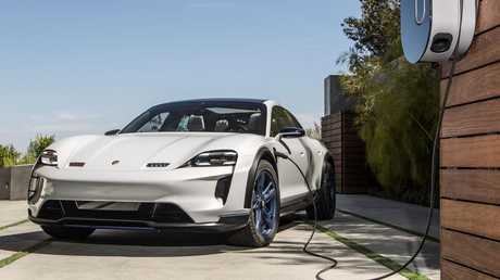 This concept car shows Porsche even wants to do an off-road fully-electric vehicle. Picture: Supplied.