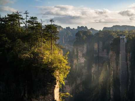 Wulingyuan national forest park in Hunan province, China.