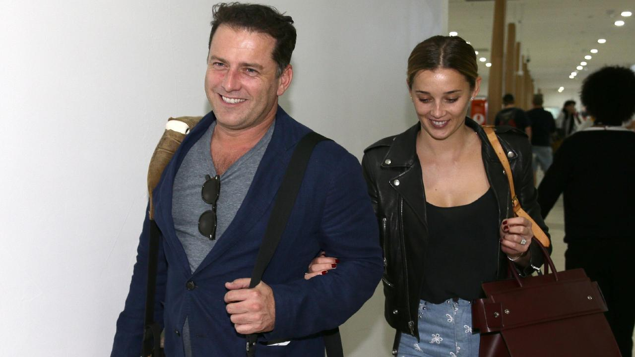 Karl Stefanovic and Jasmine Yarbrough the day after the Logies.