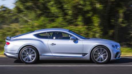 Clean sheet: The Continental GT is a completely new vehicle. Picture: Supplied.