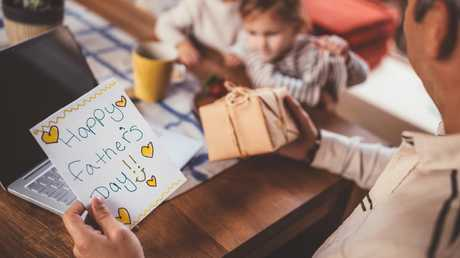 The Father's Day card found in a book would turn this woman's life upside down. Picture: iStock