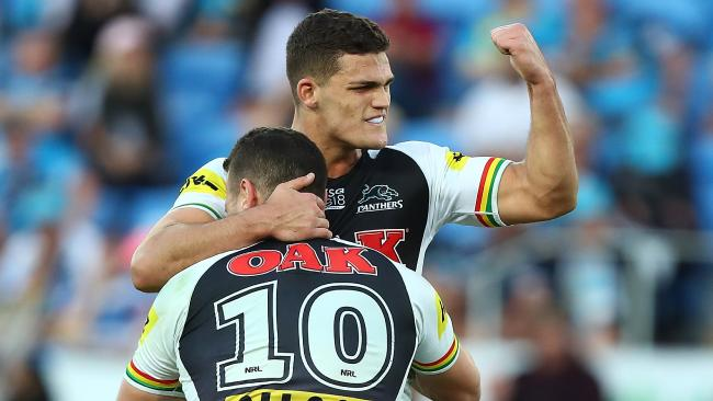 Nathan Cleary has resigned with the Panthers. Picture: Getty