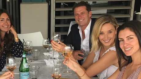 Barely a year after they were first pictured together, Jasmine Yarbrough gleefully showed off the $120,000 diamond engagement ring Karl Stefanovic gave her.