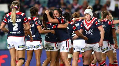 The Roosters enter the clash full of confidence following the win over the Dragons. (Photo by Cameron Spencer/Getty Images)