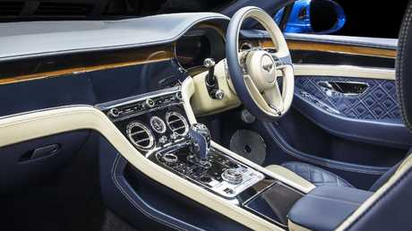 The only carryover piece from the old Continental is the glovebox handle. Picture: Supplied.