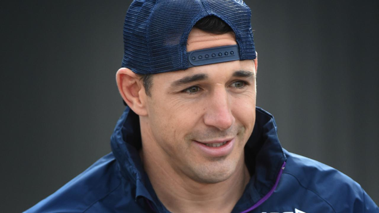 Billy Slater faces a tough Tuesday. (Tony Gough)
