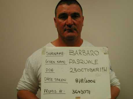 This Pasquale Barbaro is serving life in prison for the world's biggest ecstasy importation.