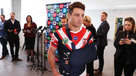 The Roosters are taking no chances. (Brett Costello)