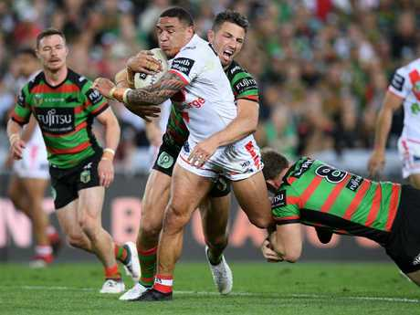 Frizell has had the best season of his career. AAP Image/Dan Himbrechts.