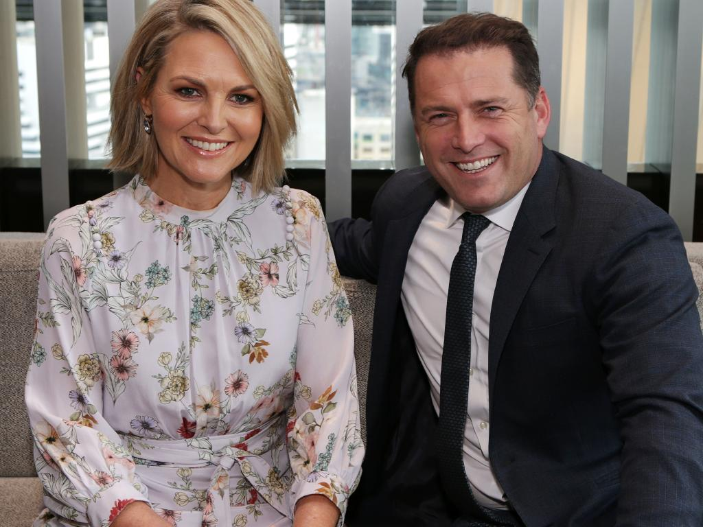 Today Show co-hosts Karl Stefanovic and Georgie Gardner. Picture Julie Kiriacoudis