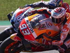 Marquez edges closer to MotoGP title