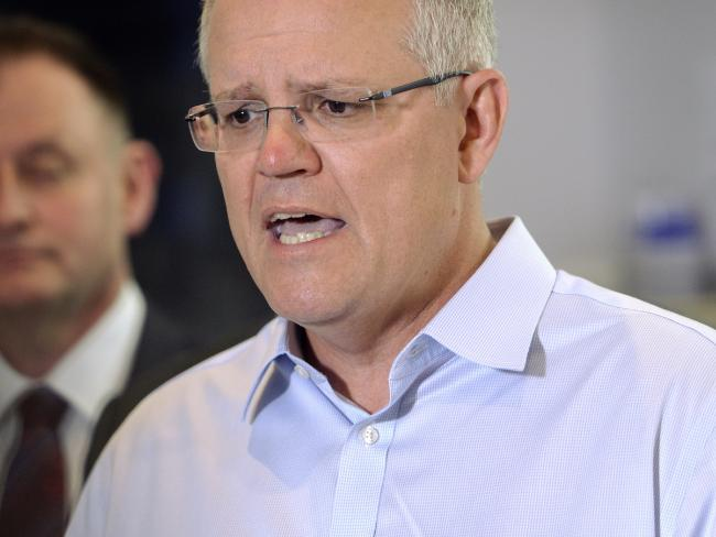 Prime Minister Scott Morrison has extended his lead over Bill Shorten as preferred prime minister. Picture: AAP Image/Perry Duffin