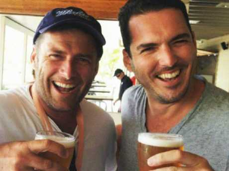 Karl Stefanovic and brother Peter Stefanovic. Picture: Instagram