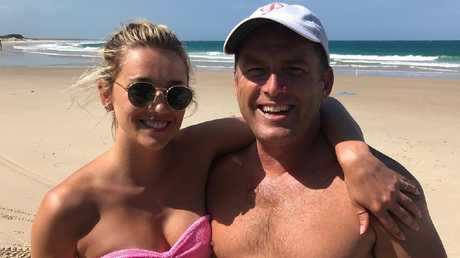 Karl Stefanovic and new squeeze Jasmine Yarbrough aren't camera shy.