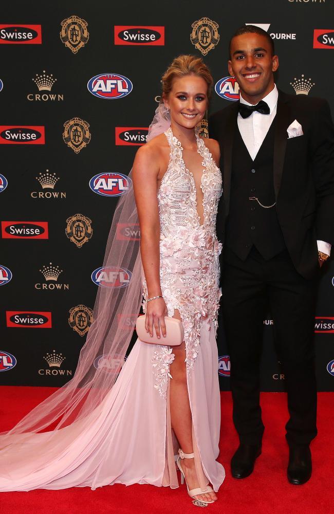 Touk Miller and Maddie Leek. Pic: Michael Klein