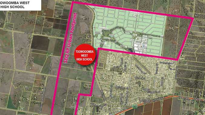 Where Toowoomba's new high school could be located