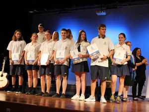 Murwillumbah High School Year 12 graduation.