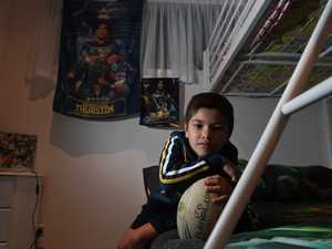 Teo Stavenow, of Goonellabah, 7, is a huge fan of