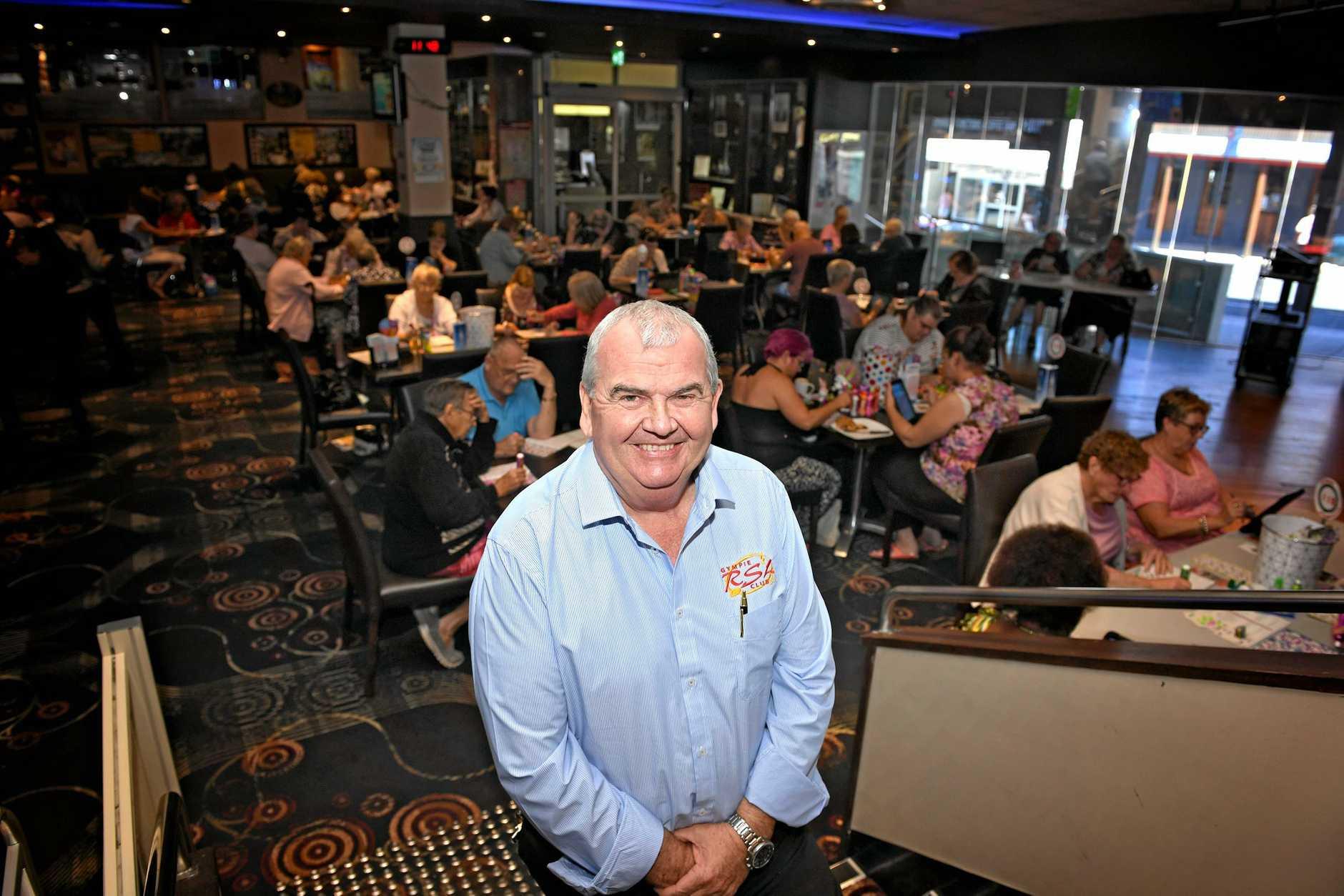 Gympie RSL Steve Lancaster.