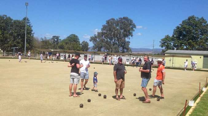 HELP: Argyle Masonic Lodge Forest Hill hosted a bowls charity day for drought relief on Sunday.