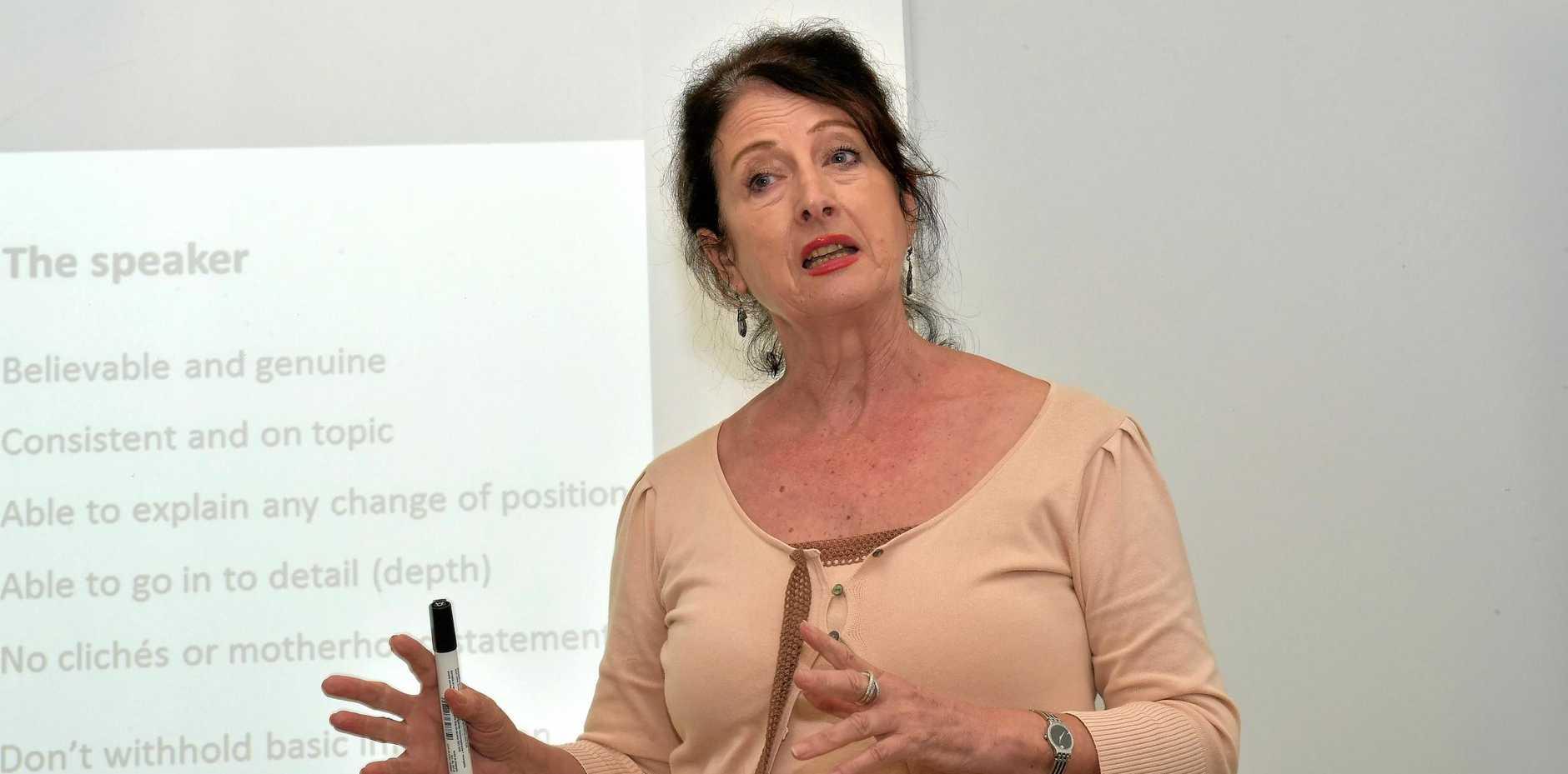Sunshine Coast Business Council chair Sandy Zubrinich.