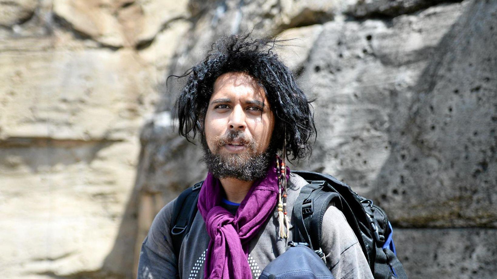 BIG TREK: Alwyn Doolan walking from Cape York to Canberra.
