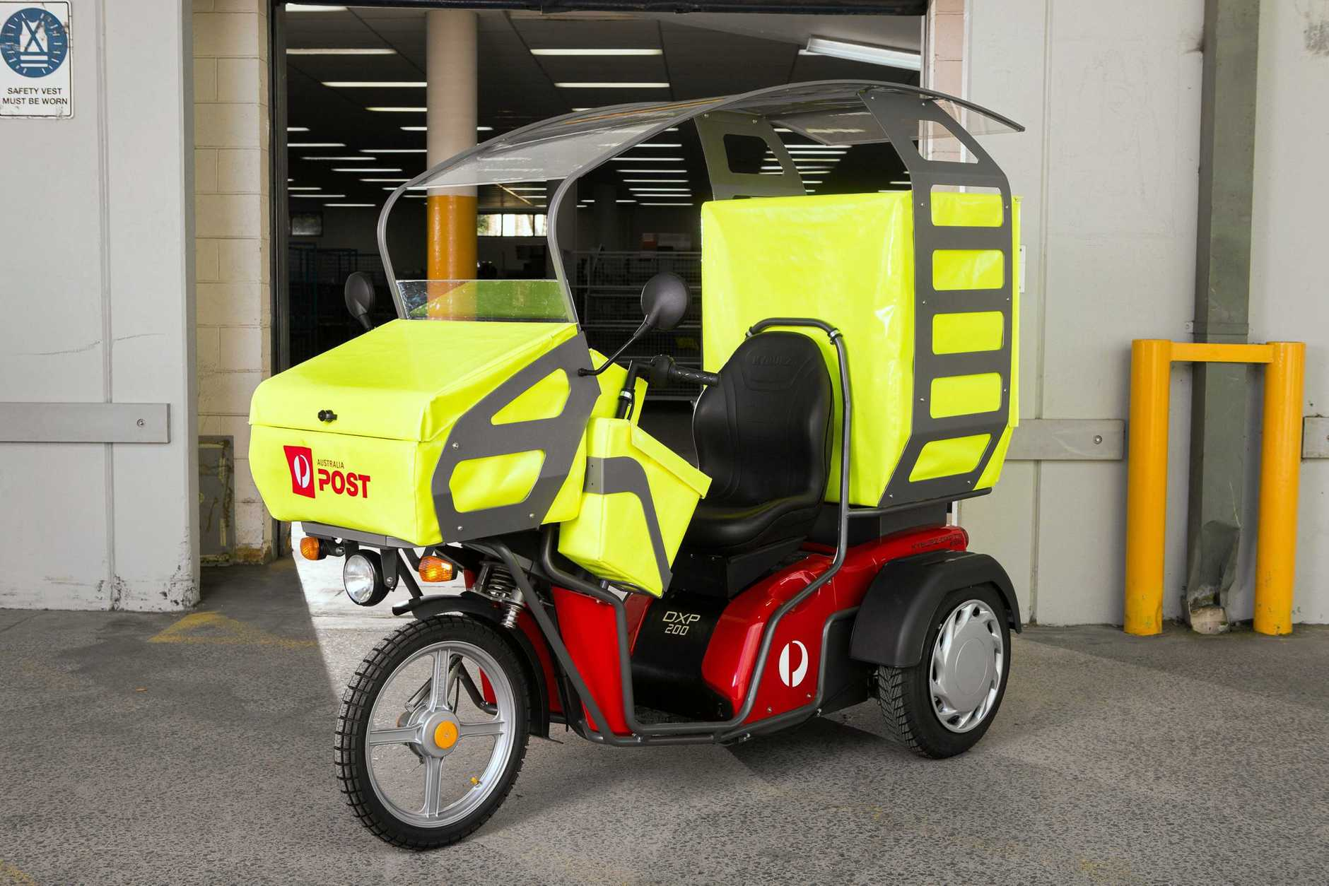 ENVIRONMENTALLY FRIENDLY: Australia Post plans to trial the electric delivery vehicle across Australia.