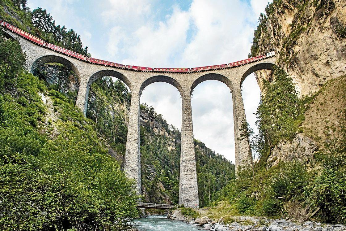 One of the most incredible experiences you can have in Switzerland is to take in the sights via a panoramic train journey.